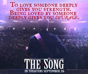 Watch THE SONG Movie Trailer