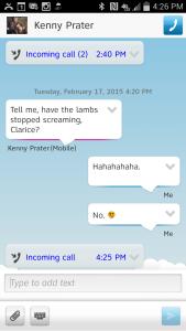 screenshot clarice